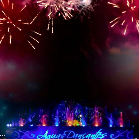 Águas Dançantes   Festas