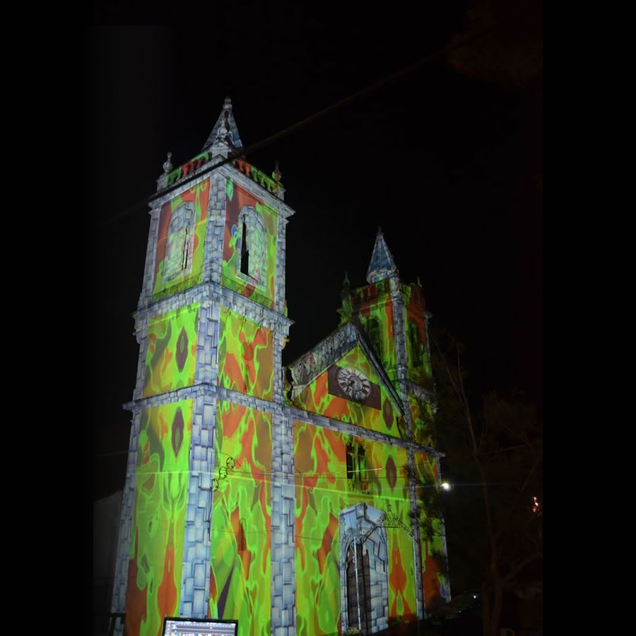 Águas Dançantes | Video Mapping